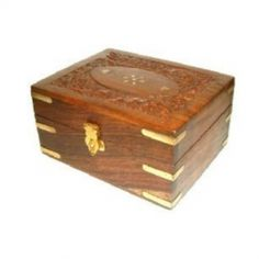 Aromatherapy Wooden Box - holds 12 x 10ml bottles