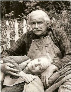 Grandpa and Grandma Walton