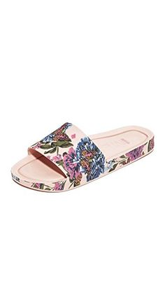 Melissa Womens Beach Slide III Slide Sandal Pink Size 5 Review
