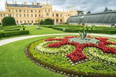 The two magnificent palaces at Lednice and Valtice are surrounded by equally magnificent parklands. Czech Republic, Prague, Palace, Explore, Mansions, World, House Styles, Chateaus, Travel