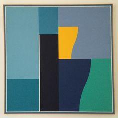 Léon Wuidar - 9 éléments, 1991 - IdeelArt #IdeelWorld #Abstraction
