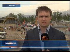 Tantv.kz - В Алматы рухнул стометровый мост строящейся развязки