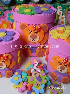 Esther Buys - Beautiful Women from Curacao Foam Crafts, Diy And Crafts, Crafts For Kids, Italian Love Cake, Diy Gift Box, Foam Sheets, Pencil Boxes, Felt Patterns, General Crafts