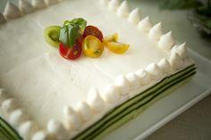 サーモン&ディルのケーキイッチ