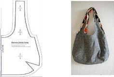 8 August 2018 Modelos de bolsos 961 Views 8 August 2018 Models of handbags 961 Views Graphic materials Gaby: Cutting and making: Bag with pattern … WITH THREAD AND FABRICS: Patterns of bags and purses Modelle von taschen in gewebemustern 15 May 2018 Mod Japanese Knot Bag, Fabric Tote Bags, Diy Sac, Bag Patterns To Sew, Fabric Patterns, Patchwork Bags, Denim Bag, Cloth Bags, Handmade Bags