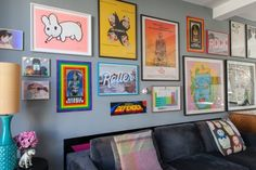 5 Lessons to Learn from a Truly Kickass Gallery Wall
