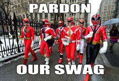 Pardon Our Swag-Power Rangers by StarStuddedLion.deviantart.com on @deviantART
