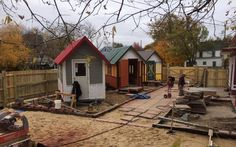 The Occupy Madison organization made another step forward in integrating tiny houses and the homeless in an effort to keep people off the street with the new Tiny House Village in Madison, WI - tiny house blog