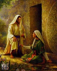 """He Is Risen"" - painting by Greg Olsen"