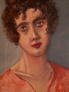 Elena, anno olio su tela dipinto dal vero dim. cm. 40 x cm 50
