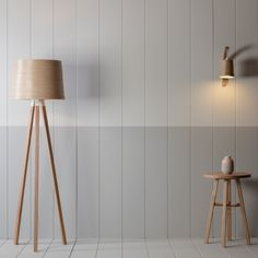 Helix Floor Light | Tom Raffield