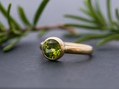 Hey, I found this really awesome Etsy listing at https://www.etsy.com/ca/listing/217028147/peridot-gold-ring-18k-gold-peridot-ring