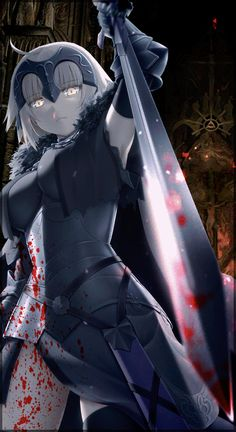 Fates Series: Ruler (Joan of Arc) Thin Hair Cuts short cuts for black thin hair Chica Anime Manga, Manga Girl, Kawaii Anime, Jeane D Arc, Fate Servants, Joan Of Arc, Fate Anime Series, Fate Zero, Best Waifu