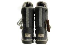 Ugg Roxy Short Grey-Uggs 5828 Boots