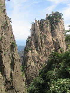 Yellow mountain, amazing place.