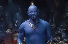 Disney has unveiled their latest trailer for Guy Ritchie's Aladdin, offering the world a first look at Will Smith's blue Genie. Unfortunately for the Mouse, th Disney Live, Walt Disney, Naomi Scott, Film Aladdin, Genie Aladdin, The Smiths, Will Smith, Guy Ritchie, Cartoon Disney