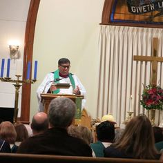 This year our Thanksgiving Worship Service was with our Ecumenical partners in Shelton.  The Service took place at Huntington Congregational Church and The Rev. Amjad Samuel was the Homilist. St. Paul's and Huntington Congregational Church choirs were directed by Ms. Bernadette Allan. It was awesome!