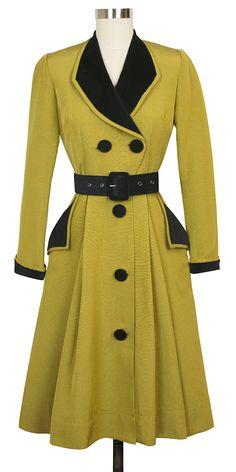 color contrast coat