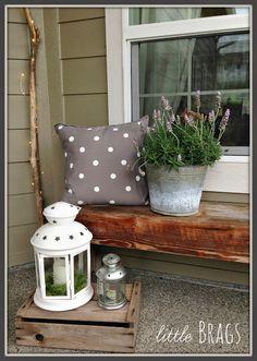 Little Brags: Cute DIY Polka Dot Pillows