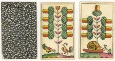 Playing card. Vincent Proksch, 1860-1865