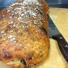 Bröd med ramslök - Mitt kök