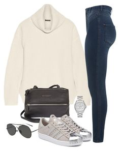 """""""Untitled #685"""" by annap-style ❤ liked on Polyvore featuring Naven, Miss Selfridge, Givenchy, adidas Originals, FOSSIL and Acne Studios"""