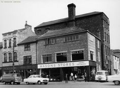 Mason Stores on Oldham Road and Henry Street.