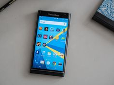 The Priv is BlackBerry's first Android phone -- lets take a closer look.