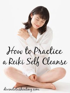 How to Practice a Reiki Self Cleanse. How to ground yourself into the roots of your inner self. Cycling is where I feel most grounded.