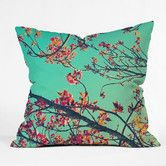 Found it at Wayfair - Shannon Clark Summer Bloom Polyester Throw Pillow