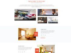 FC Recom - Hotel Website Template