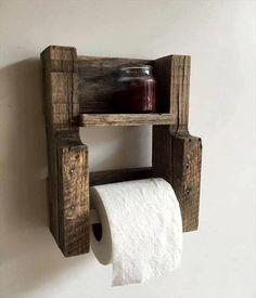 Wood Toilet Roll Holder | Objetos De Madera | Pinterest | Toilet Roll Holder,  Toilet And Woods