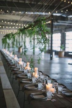 Warehouse wedding decor images decoration ideas is one of images from warehouse wedding decor. This image's resolution is pixels. Find more warehouse wedding decor images like this one in this gallery Dinner Party Decorations, Wedding Ceremony Decorations, Table Decorations, Dinner Parties, Wedding Dinner, Wedding Table, Wedding Reception, Kinfolk Magazine, Table Centerpieces