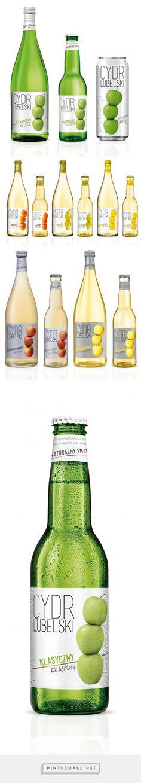 Lubelski Cider Lubelski Cider – Packaging of the World – Creative Package Design Gallery – www. Beverage Packaging, Food Packaging, Brand Packaging, Bottle Design, Glass Design, Food Design, Label Design, Package Design, Creative Package
