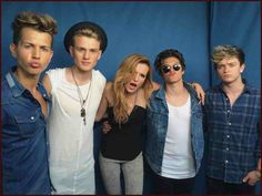 The vamps and Bella Thorne lucky The Vamps 2016, Famous In Love, Bradley Simpson, Latest Music Videos, Bella Thorne, I Need To Know, Season 3, 5sos, Shit Happens