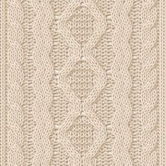 cable knitting patterns Ideal for a throw in bulky yarn