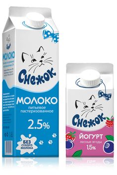 Cat milk or just a cut cat on milk #packaging: your daily packaging smile : ) PD