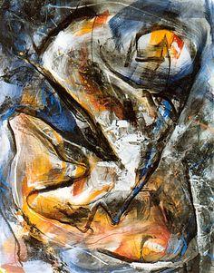 Le Volcan, 1994, 163 x 130 cm