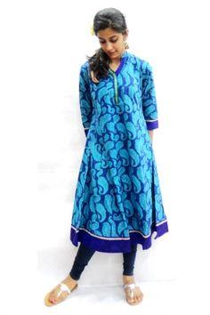 Cotton Anarkali #Kurti - Price: 595