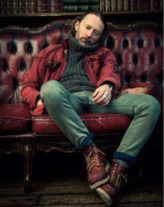 Red Wing Shoes Owners Club | themaninthegreenshirt:   Thom Yorke