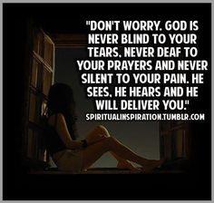 GOD WILL DELIVER