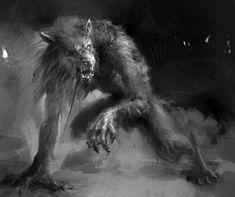 werewolf by Lukasz Jaskolski