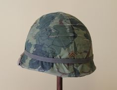 Uncle Sam issued this helmet to me when I was a Corporal in the World's Finest, circa 1978.