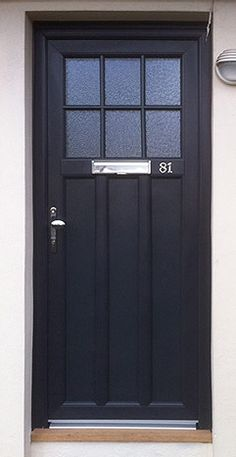 Anthracite Grey Front door Bristol, South West England