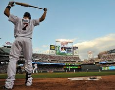 Joe Mauer & Target Field <3 Two of the greatest things to any Twins fan.