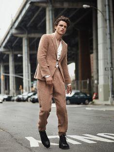 Simon Nessman Models Ermenegildo Zegna for GQ Brazil September 2017 Issue