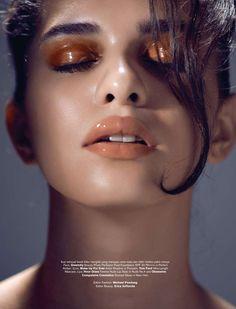 Daise by Glenn Prasetya for Harper's Bazaar Indonesia beauty glossy eyes » Poli Korol
