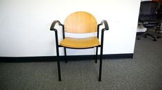 bolia guest stacking chair used office furniture