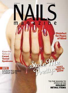 Nails Magazine November 2017 Issue Toe Nail Art Diy Inspo