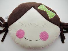 Pillow Baby  Little Girl KiKi  Custom Boutique  by iwantedtowonder,